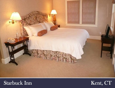 Starbuck Inn Kent CT Litchfield County Connecticut bed and breakfast inn lodging